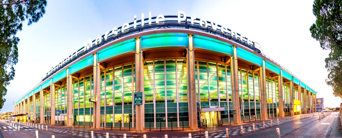 Parking.ai Aéroport Marseille