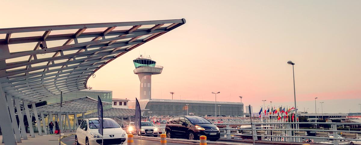 Parking.ai Luchthaven Bordeaux